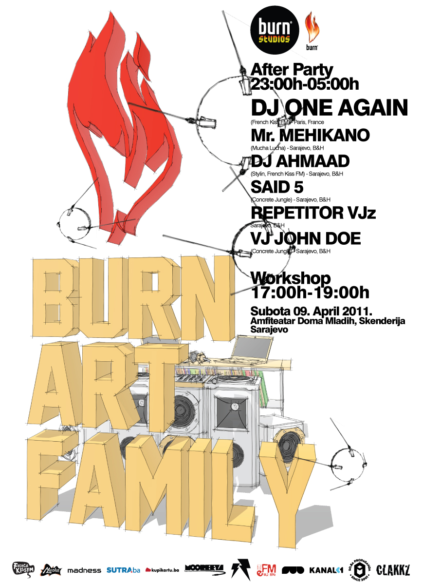 Burn Art Family